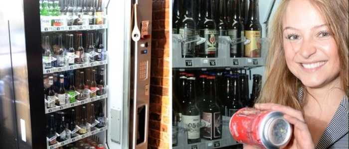 The Fox Pub's Vending Machines