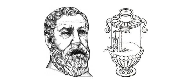 Hero of Alexandra's Holy Water Dispenser