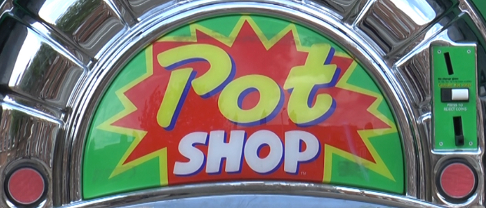 Pot Shop Vending Machine