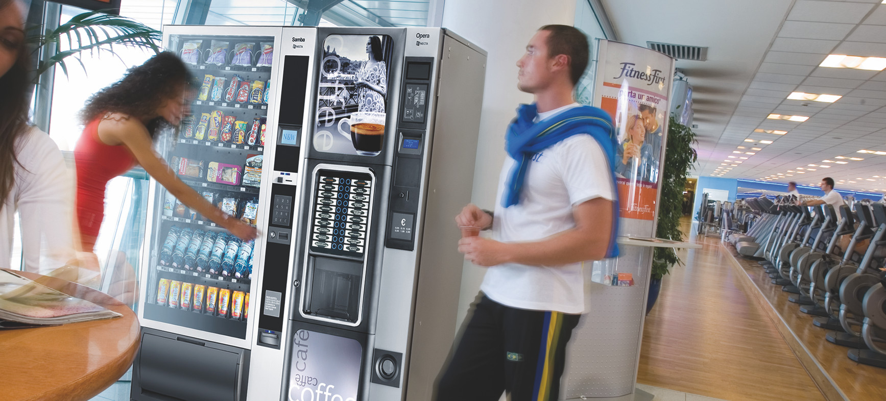 Gym And Leisure Centre Vending Solutions Vendtrade